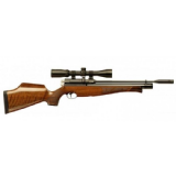 Air Arms S410 Precharged PCP Air Rifle - Walnut